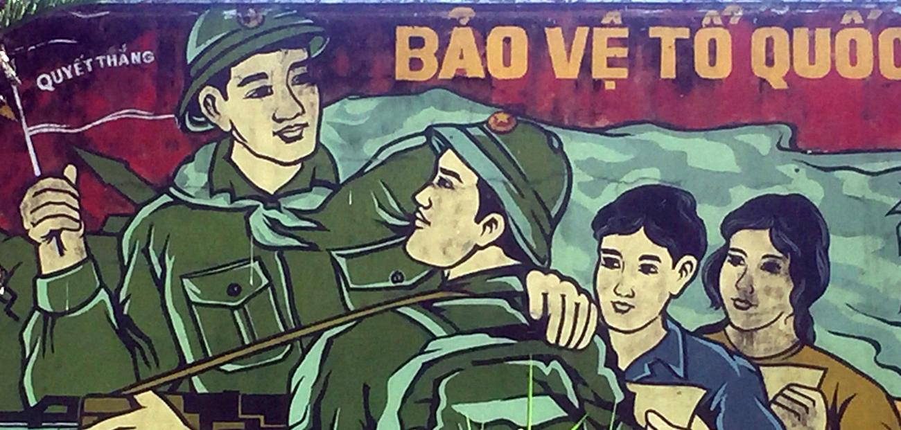 Propaganda image Pleiku