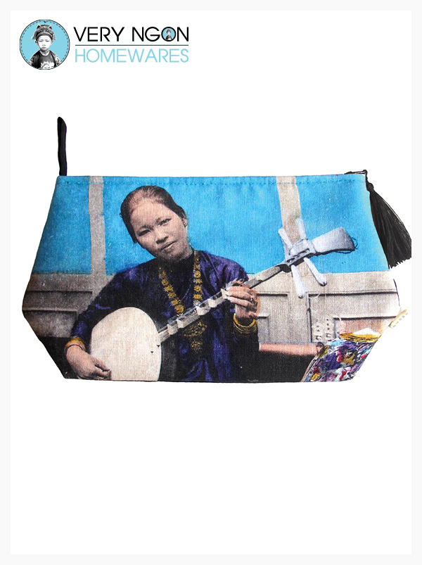Travel Pouch: Small - Dame Annamite