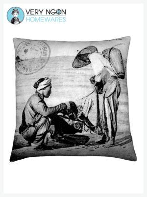 Cushion Cover - Large - Cap Saint-Jacques