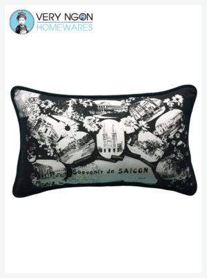 Cushion Cover - Rectangular - Souvenir De Saigon