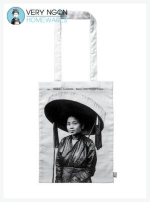 Tote Bag - Femme au Grande Chapeau