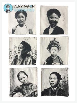 Coasters People of Indochine 1