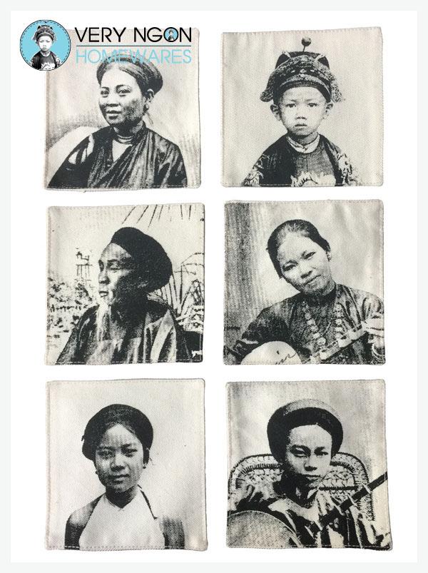 Coasters - People of Indochine 2