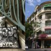 Catinat Building and cushion covers