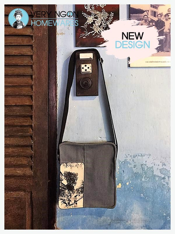 Urban Man Bag - Rue Catinat - hanging