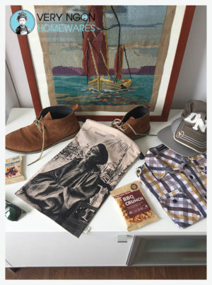 Shoe bag - Mandarin Tonkinois - Hiking Trip