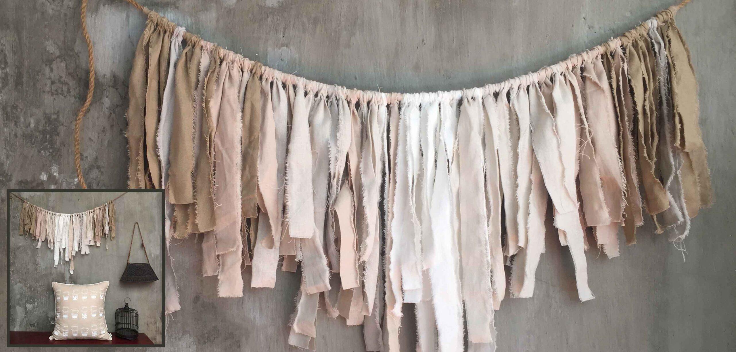 Fabric garland